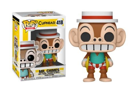 Cuphead Funko Pop! Vinylfigur Mr. Chimes 418 Exclusive
