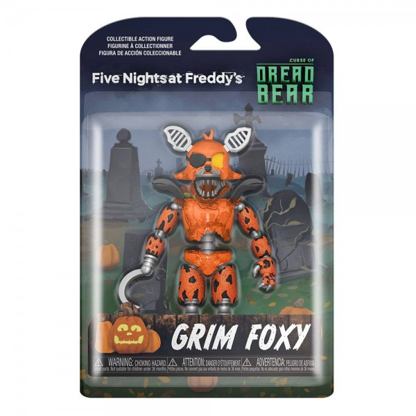 Five Nights at Freddy's Dreadbear Actionfigur Grim Foxy
