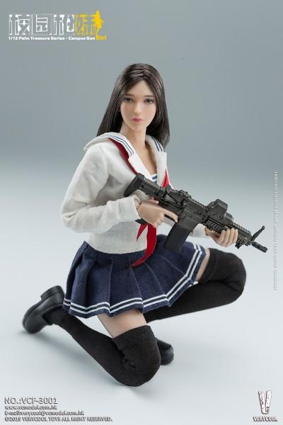 VERYCOOL Actionfigur 1/12 Campus Gun Girl (C.G.G.)