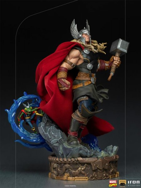 Marvel Art Scale Statue 1/10 Thor Unleashed (Deluxe)