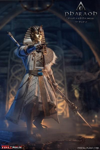 Phicen / TBLeague 1/6 Actionfigur Pharaoh Tutankhamun (White Version)