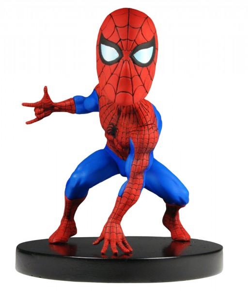 Marvel Classic Head Knocker Wackelkopf-Figur Spider-Man