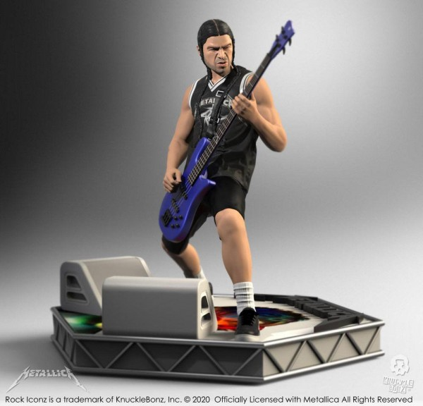 Metallica Rock Iconz Statue 1/9 Robert Trujillo