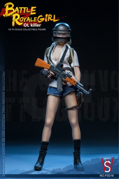 SWToys Battle Royale Girl Actionfigur 1/6 OL Killer