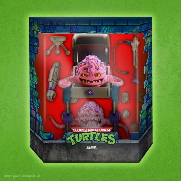 Teenage Mutant Ninja Turtles Ultimates Actionfigur Krang