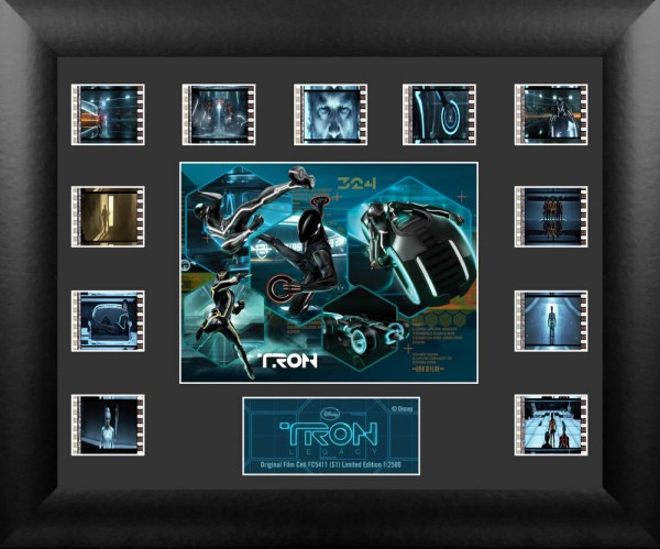 Film Cell Tron Legacy Collage