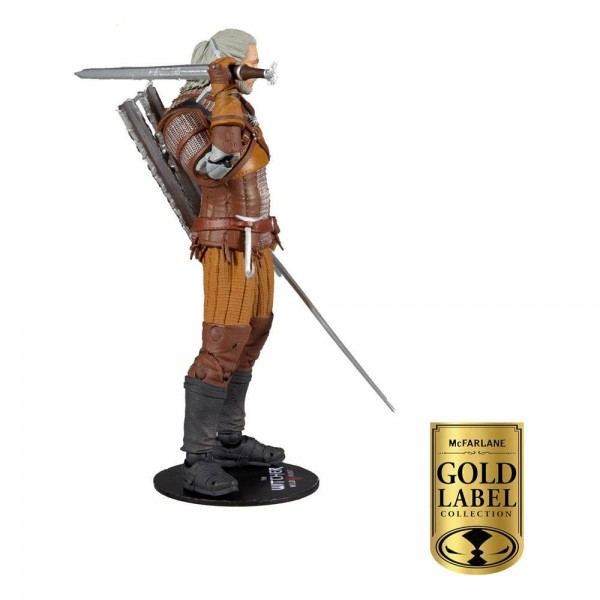 Witcher Actionfigur Geralt Gold Label Series (Exclusive)