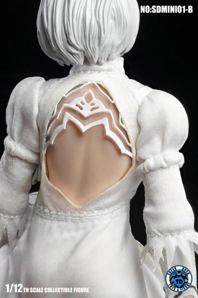 SUPER DUCK 1/12 Sexy Robot Kopf & Kostüm (White)