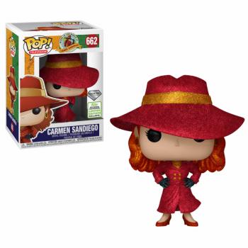 Carmen Sandiego Funko Pop! Vinylfigur Carmen Sandiego (Glitter) 662 Exclusive