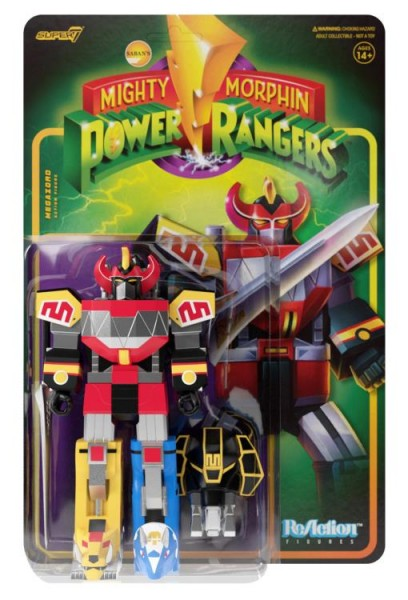 Mighty Morphin' Power Rangers ReAction Actionfigur Dino Megazord