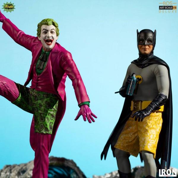 Batman 1966 BDS Art Scale Statue 1/10 Surfer Joker (Deluxe)