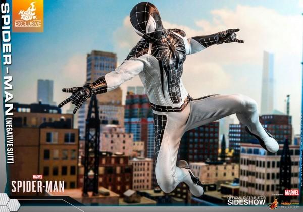 Spider-Man Video Game Masterpiece Actionfigur 1/6 Spider-Man (Negative Suit) Exclusive