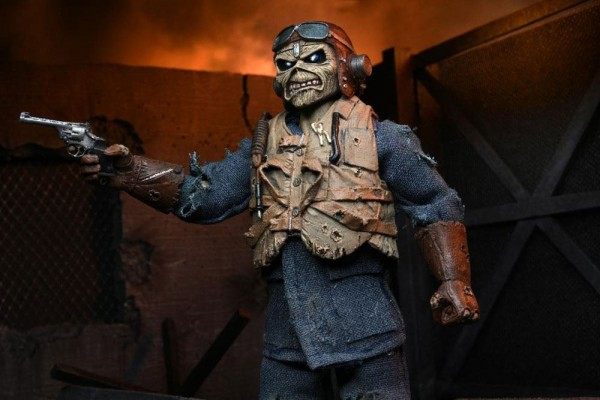Iron Maiden Retro Actionfigur Aces High Eddie