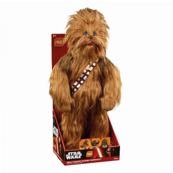 Star Wars Mega Poseable Plüschfigur Chewbacca (mit Sound) 61 cm