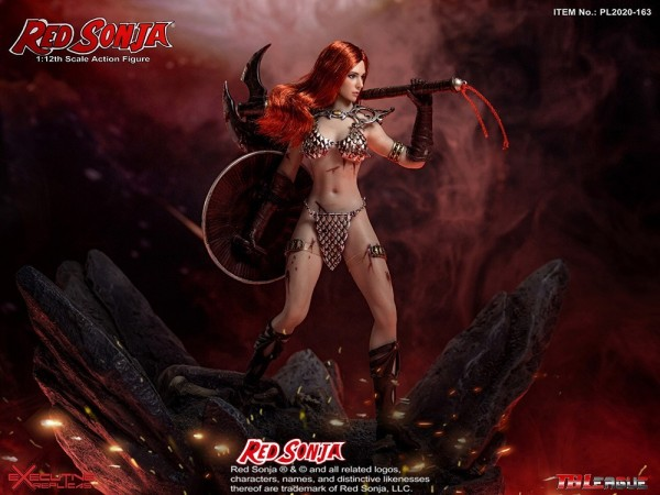 Phicen / TBLeague 1/12 Actionfigur Red Sonja