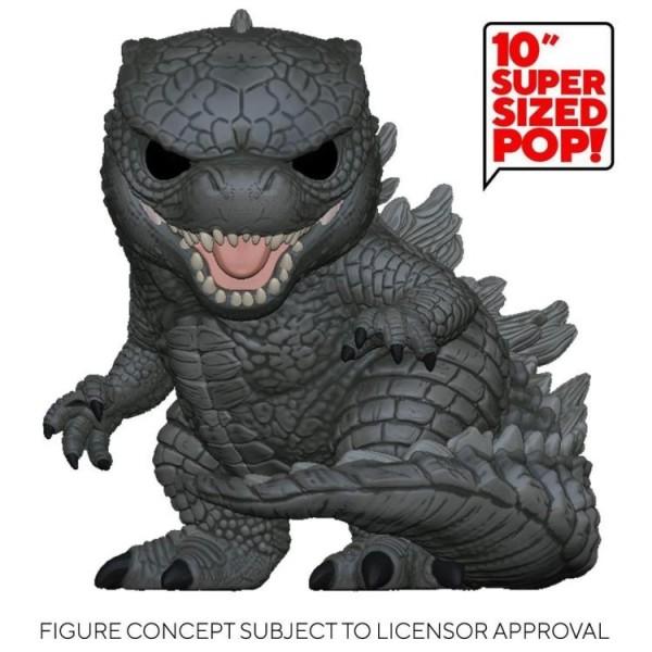 Godzilla vs. Kong Funko Pop! Vinylfigur Godzilla (Supersized)