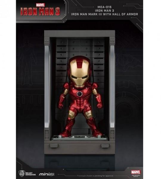 Iron Man 3 'Mini Egg Attack Action' Figur Hall of Armor Iron Man Mark III