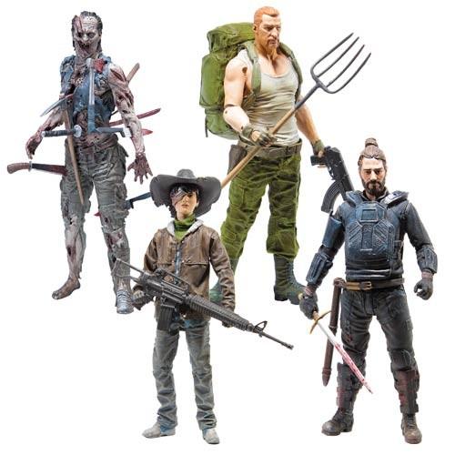 Walking Dead Actionfiguren-Set Comic Serie 4