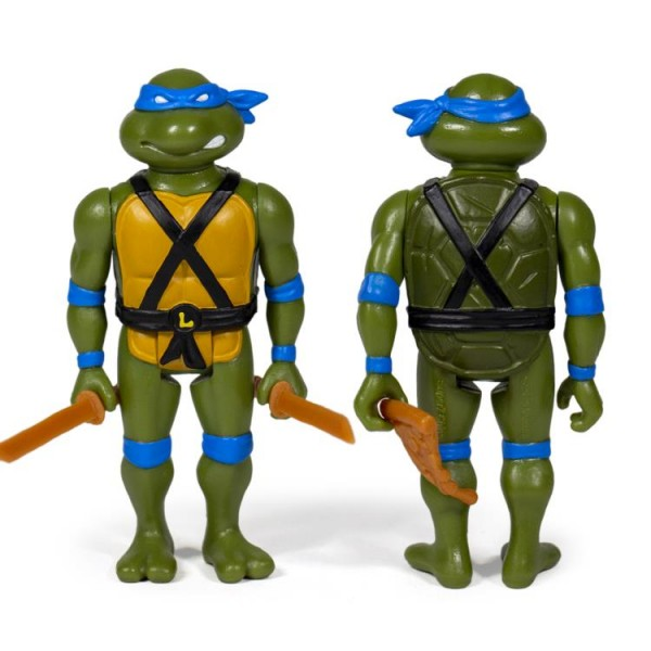 Teenage Mutant Ninja Turtles ReAction Actionfigur Leonardo