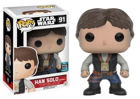 Star Wars Funko Pop! Vinylfigur Han Solo (Ceremony) 91 Exclusive