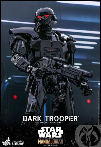 Star Wars The Mandalorian Television Masterpiece Actionfigur 1/6 Dark Trooper
