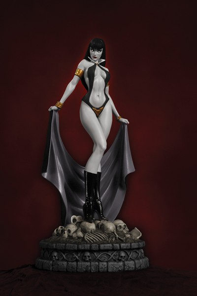 Women Dynamite Statue Vampirella Black & White (Diamond Eye)