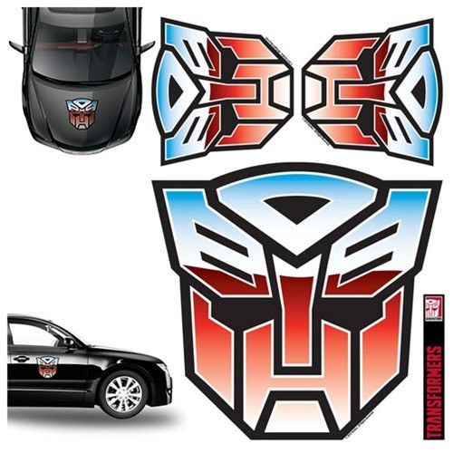 Transformers Autobots Full Color Auto Folien-Set