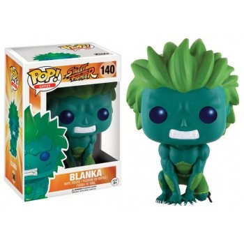 Street Fighter Funko Pop! Vinylfigur Blanka (Green) 140 Exclusive