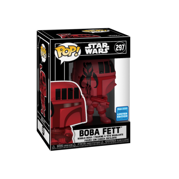 Star Wars Funko Pop! Vinylfigur Boba Fett (Exclusive)