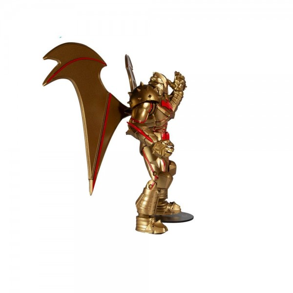 DC Multiverse Actionfigur Batman Hellbat Suit (Gold Edition)