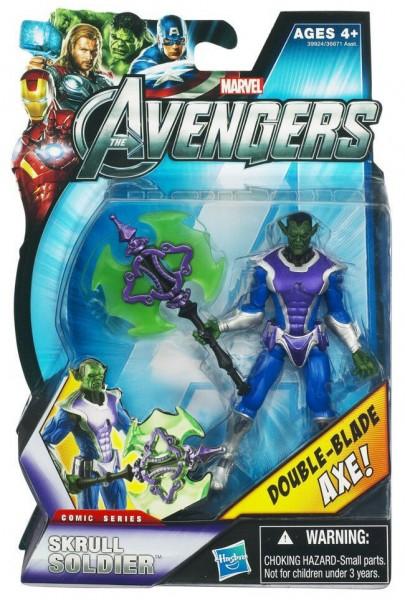 Avengers Comic Series Actionfigur 10 cm Skrull Soldier