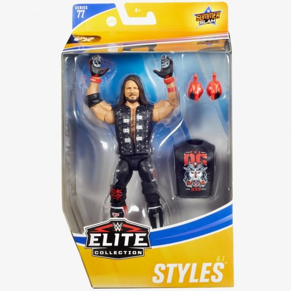 WWE Elite Collection Actionfigur AJ Styles