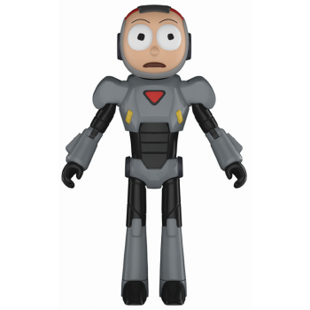 Rick and Morty Actionfigur Morty (Purge Suit)