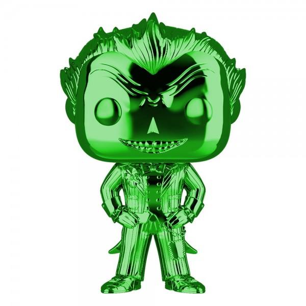 Batman Arkham Asylum Funko Pop! Vinylfigur Joker (Green Chrome) 53 Exclusive