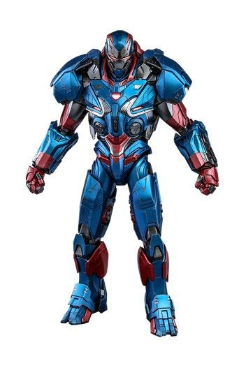 Avengers Endgame Movie Masterpiece Diecast Actionfigur 1/6 Iron Patriot