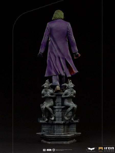 The Dark Knight Art Scale Statue 1/10 The Joker (Deluxe)