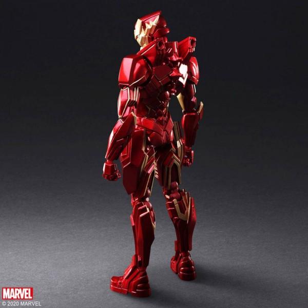 Marvel Bring Arts Actionfigur Iron Man by Tetsuya Nomura