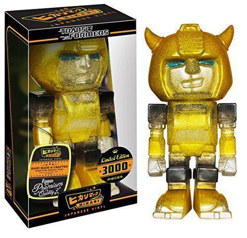 Transformers Funko Sofubi Hikari Vinylfigur Bumblebee Glitter