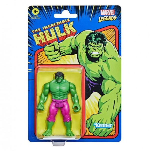 Marvel Legends Retro Actionfigur 10 cm Hulk