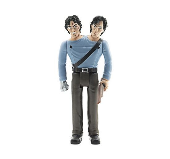 Army of Darkness ReAction Actionfigur Two-Headed Ash