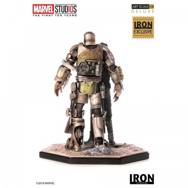 Marvel Art Scale Statue 1/10 Iron Man Mark I (Deluxe) Exclusive