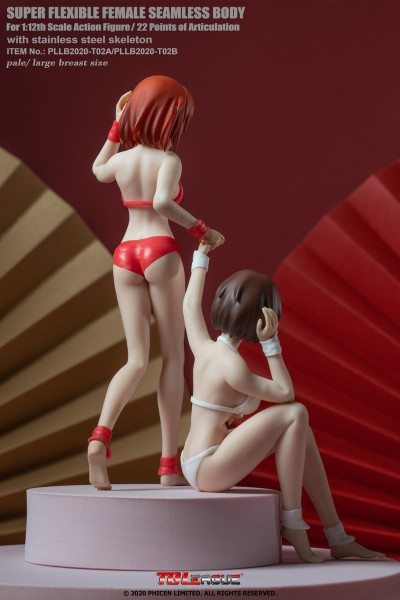 Phicen / TBLeague 1/12 Female Body with Animated Head (Version A)
