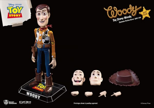 Toy Story Dynamic 8ction Heroes Actionfigur Woody