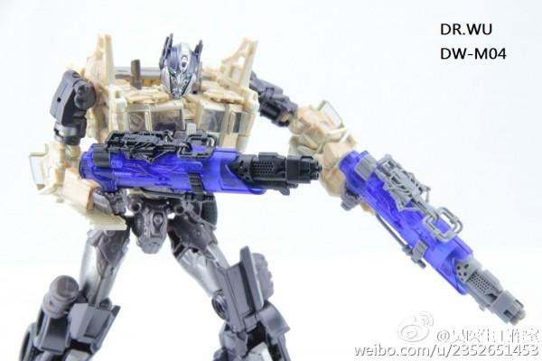Dr. Wu DW-M04 Triple Barrelled Rifle