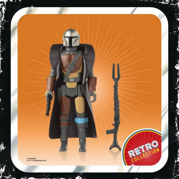 Star Wars Mandalorian Retro Collection Actionfiguren 10 cm Wave 1 (7)