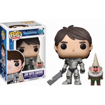 Trollhunters Funko Pop! Vinylfigur Armored Jim with Gnome 466