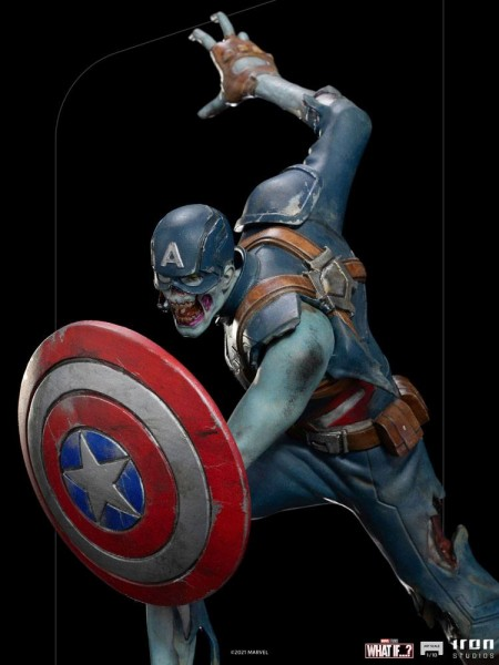 What If...? Art Scale Statue 1/10 Captain America Zombie