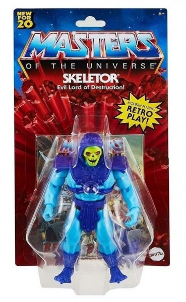Masters of the Universe Origins 2020 Actionfigur Skeletor