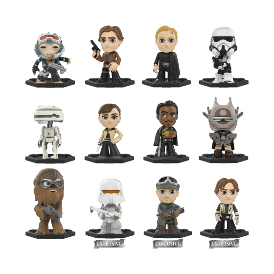 Star Wars Solo Mystery Minis Blindbox Minifigur Limited Mix