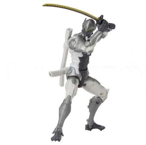 Overwatch Ultimates Actionfigur Genji (Chrome) Exclusive